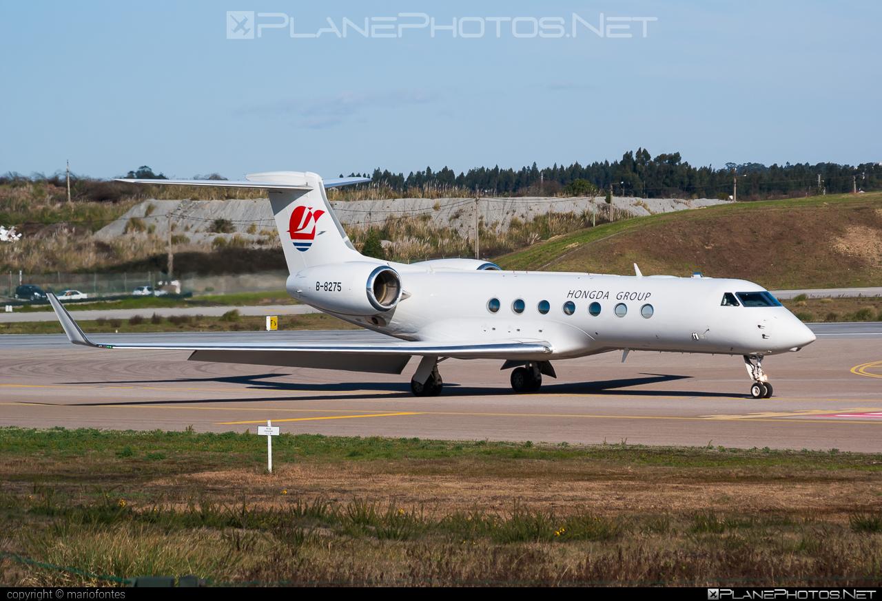 Gulfstream G550 - B-8275 operated by Deer Jet #g550 #gulfstream #gulfstreamg550