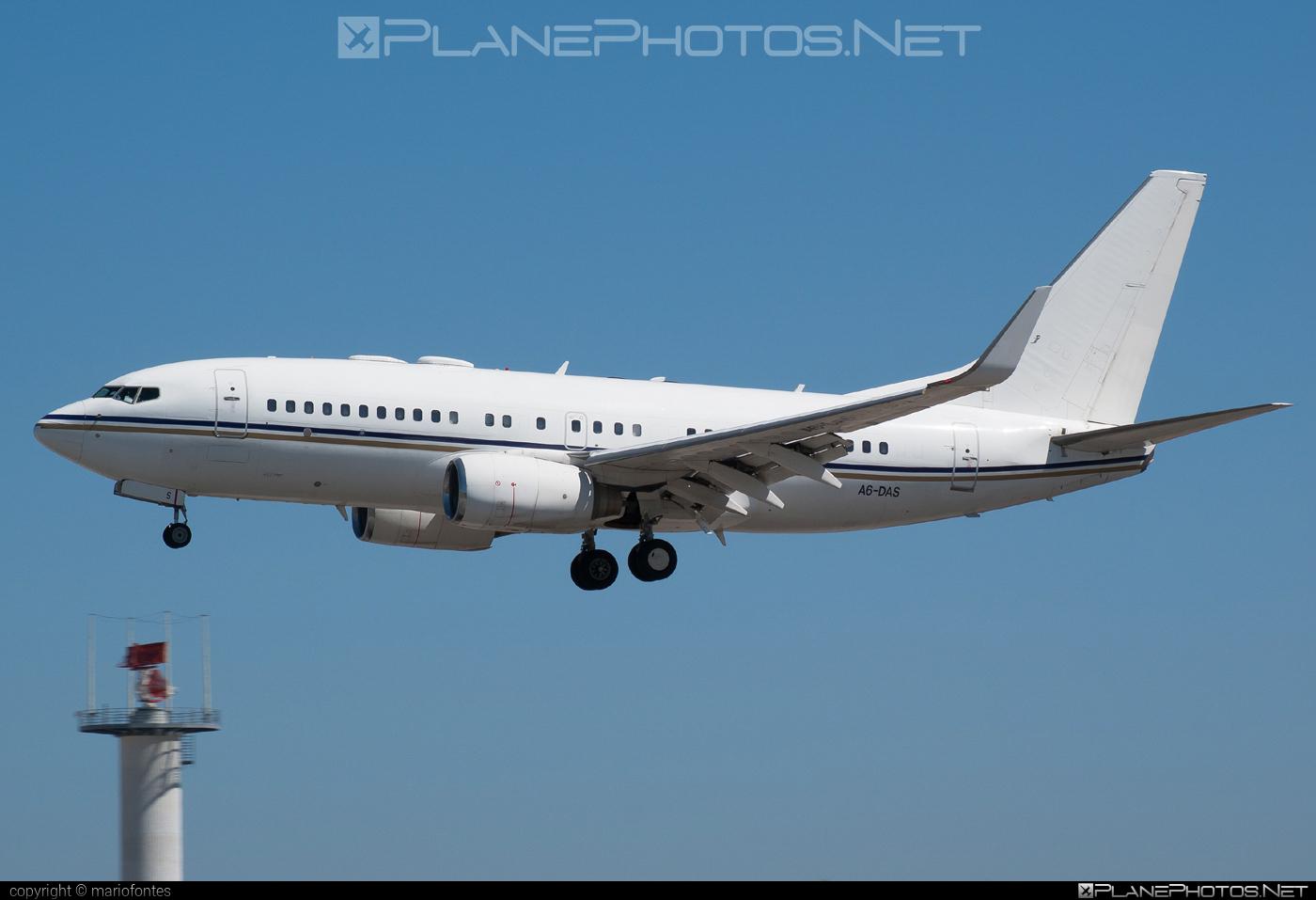 Boeing 737-700 BBJ - A6-DAS operated by Royal Jet #b737 #b737bbj #bbj #boeing #boeing737 #boeingbusinessjet #royaljet