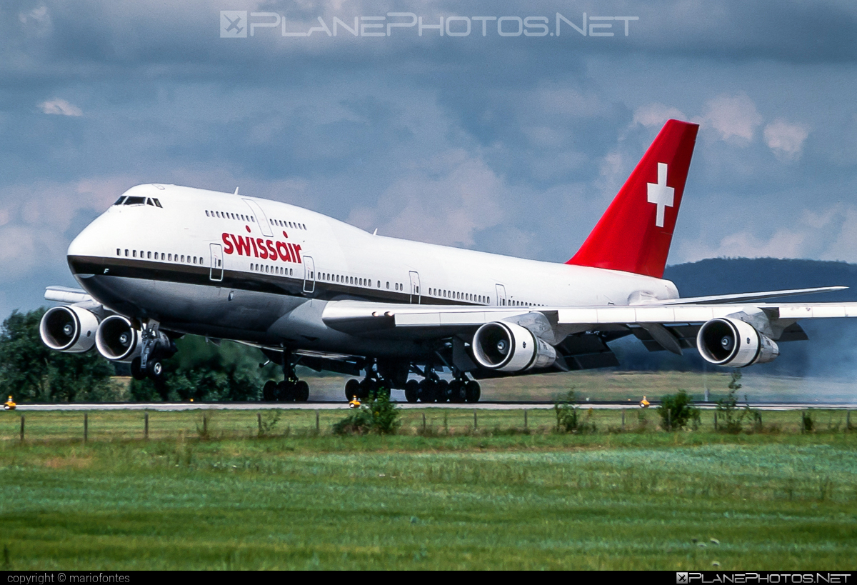 Boeing 747-300 - HB-IGF operated by Swissair #b747 #boeing #boeing747 #jumbo #swissair
