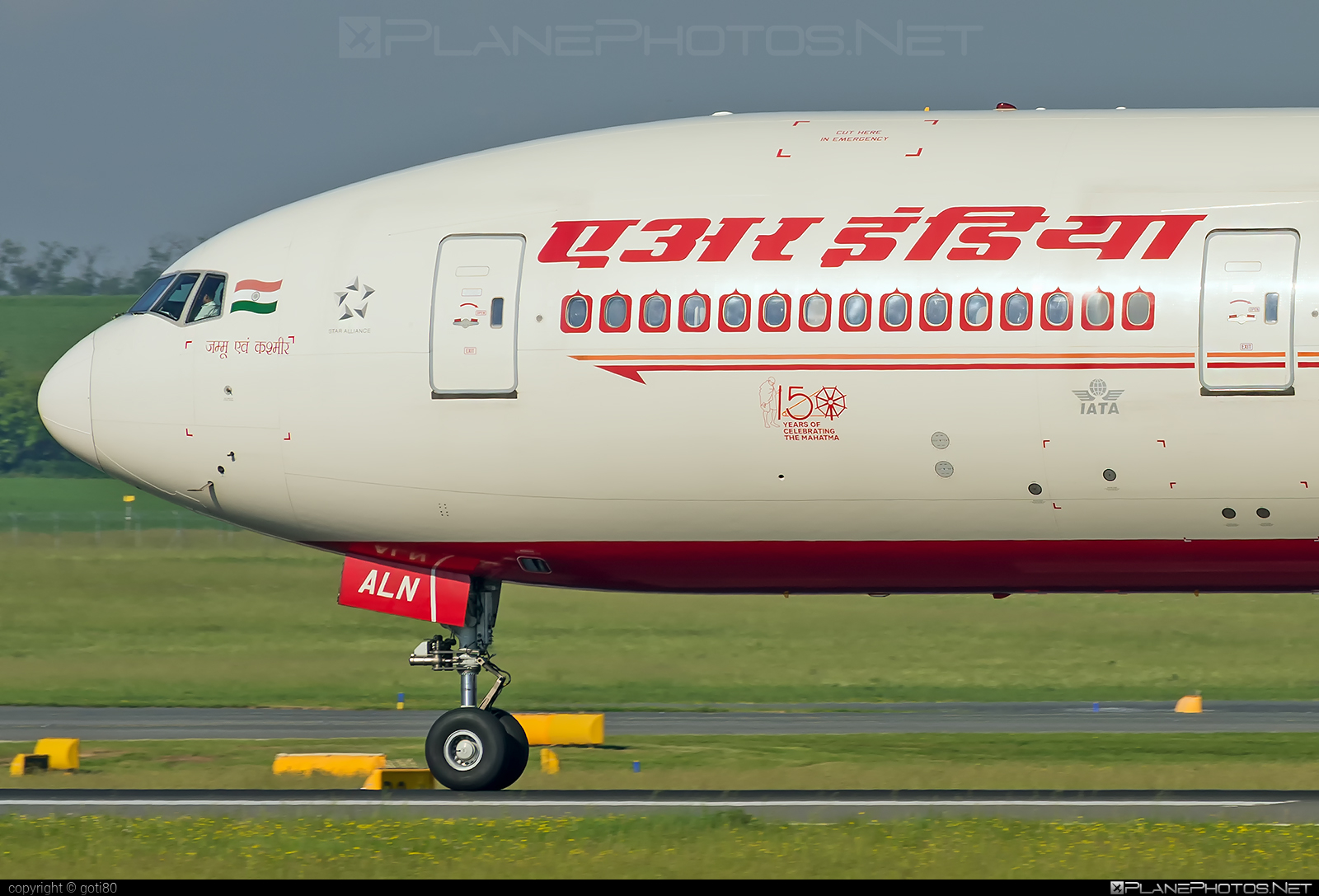 Boeing 777-300ER - VT-ALN operated by Air India #b777 #b777er #boeing #boeing777 #tripleseven