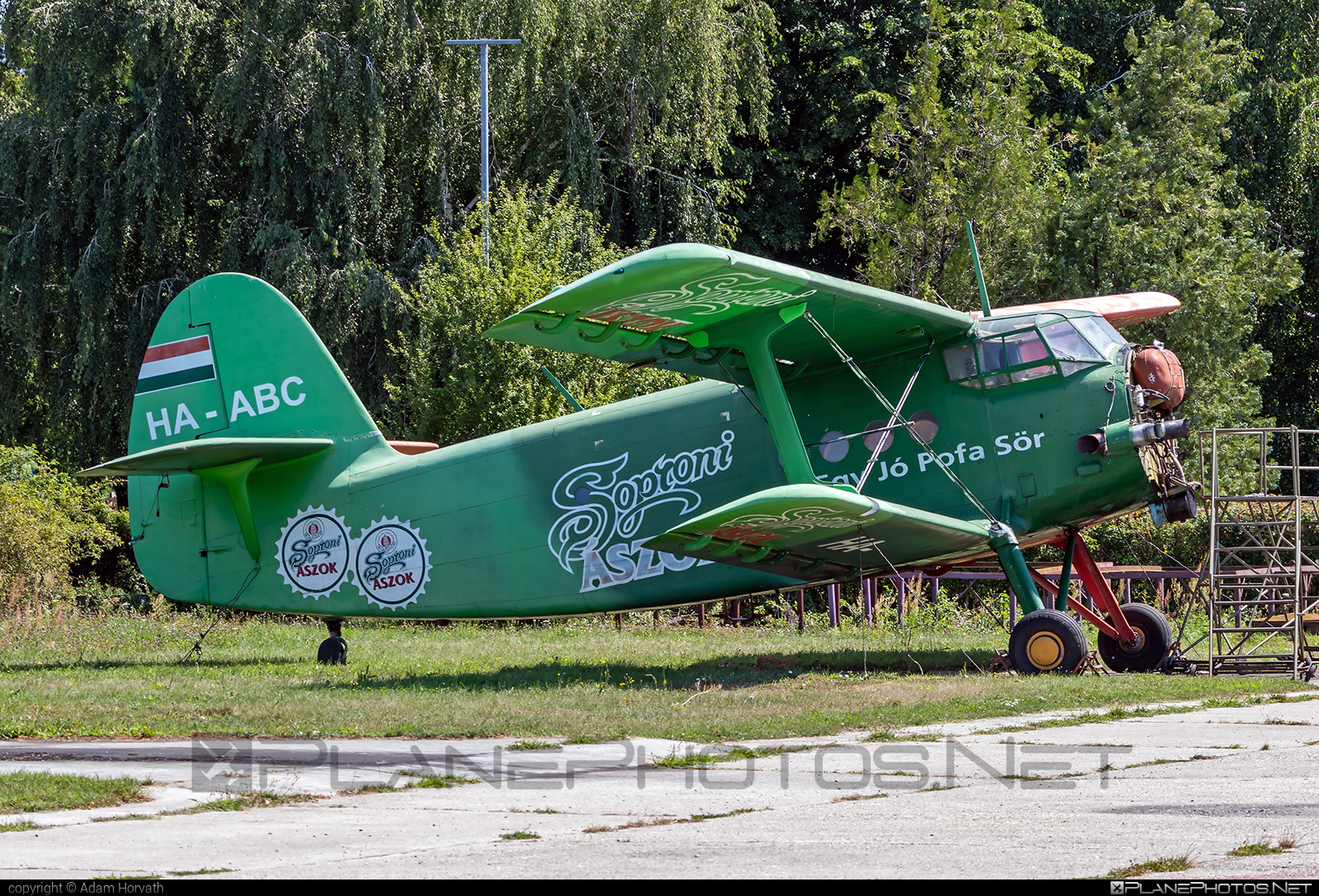 PZL-Mielec An-2TD - HA-ABC operated by Private operator #an2 #an2td #antonov2 #pzl #pzlmielec