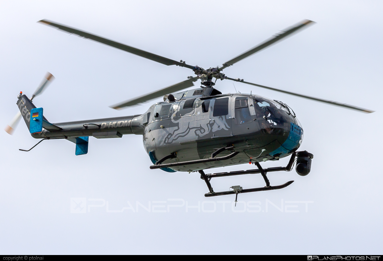 MBB Bo 105CBS-5 - D-HUDM operated by The Flying Bulls #mbb #theflyingbulls