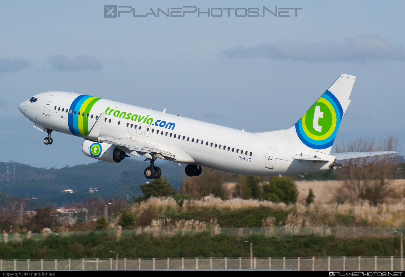 Boeing 737-800 - PH-HSG operated by Transavia Holland #b737 #b737nextgen #b737ng #boeing #boeing737