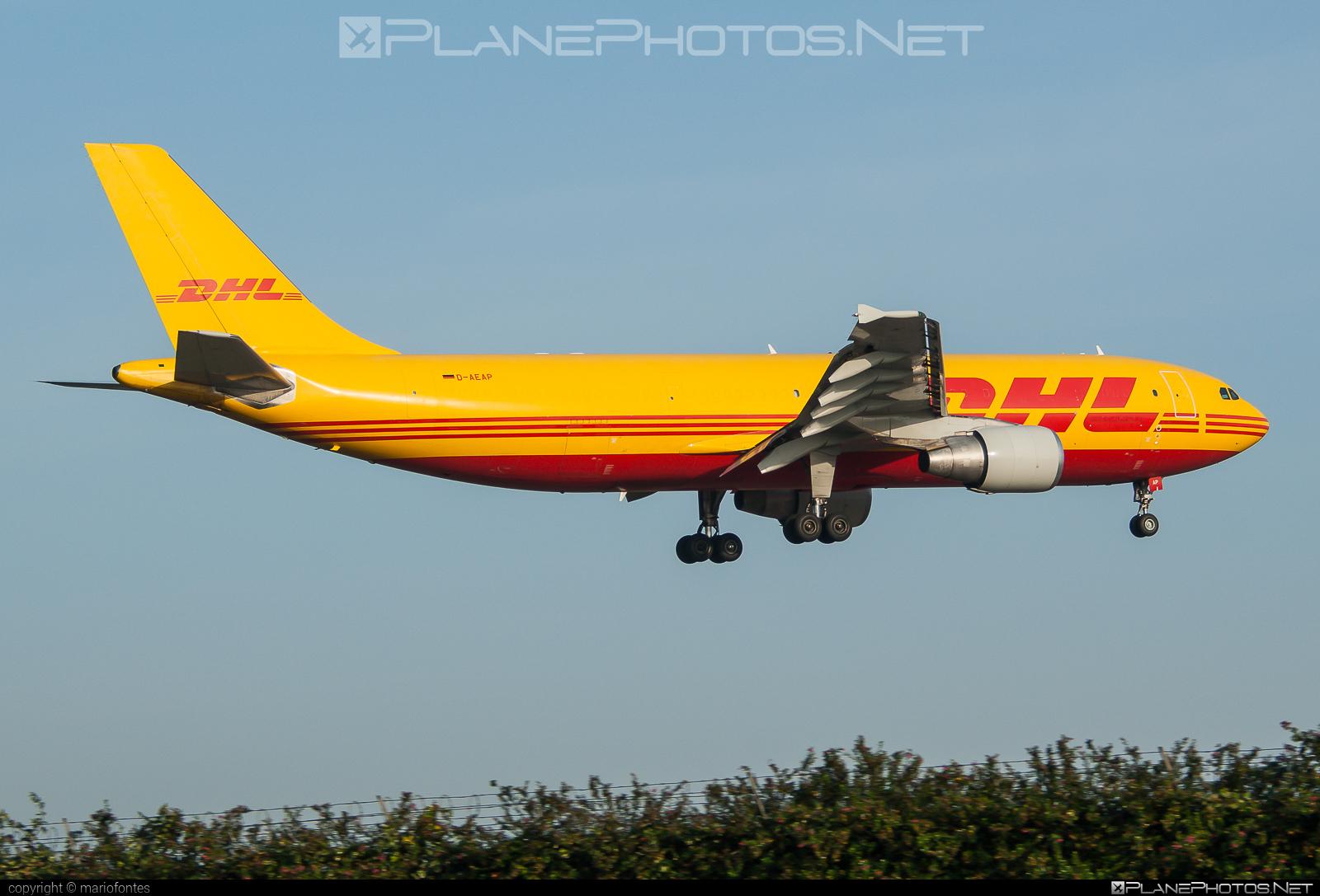 Airbus A300F4-622R - D-AEAP operated by DHL (European Air Transport) #a300 #airbus
