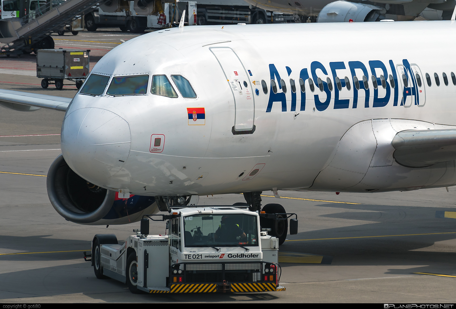 Airbus A320-232 - YU-APG operated by Air Serbia #a320 #a320family #airbus #airbus320