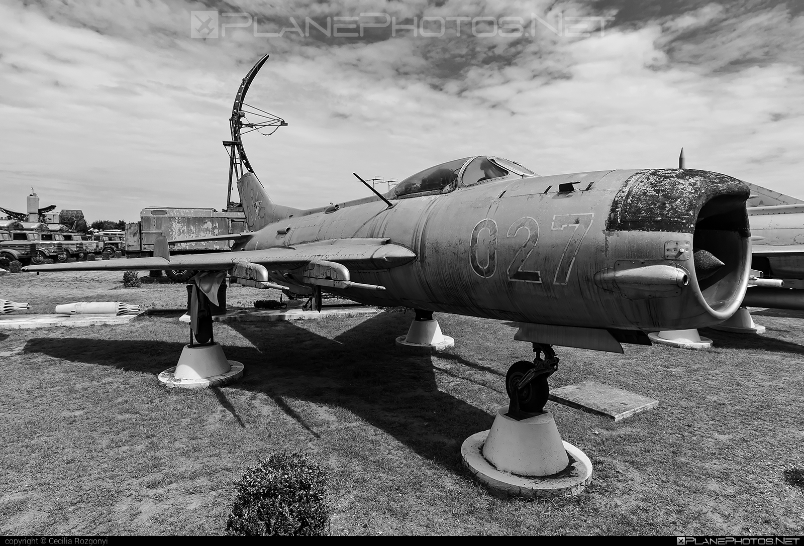 Mikoyan-Gurevich MiG-19PM - 027 operated by Magyar Néphadsereg (Hungarian People's Army) #hungarianpeoplesarmy #magyarnephadsereg #mig #mikoyangurevich