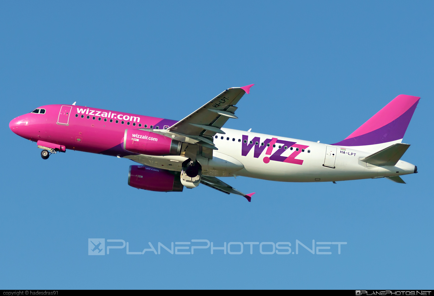 Airbus A320-232 - HA-LPT operated by Wizz Air #a320 #a320family #airbus #airbus320 #wizz #wizzair