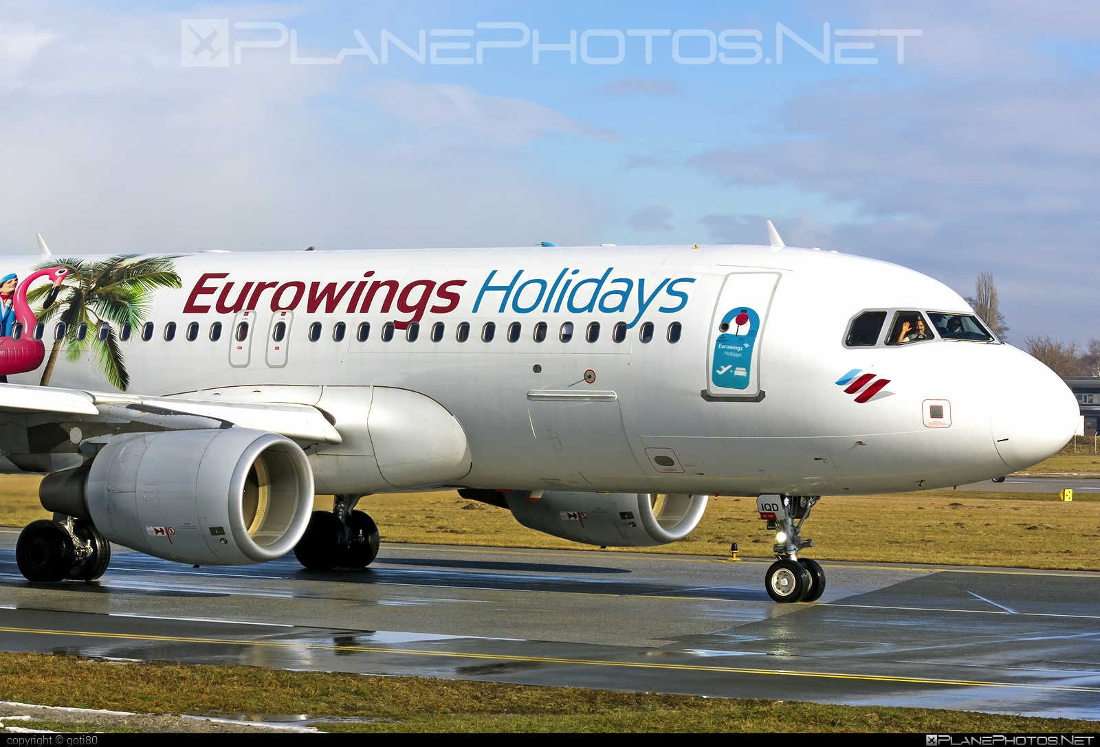 Airbus A320-214 - OE-IQD operated by Eurowings #a320 #a320family #airbus #airbus320 #eurowings