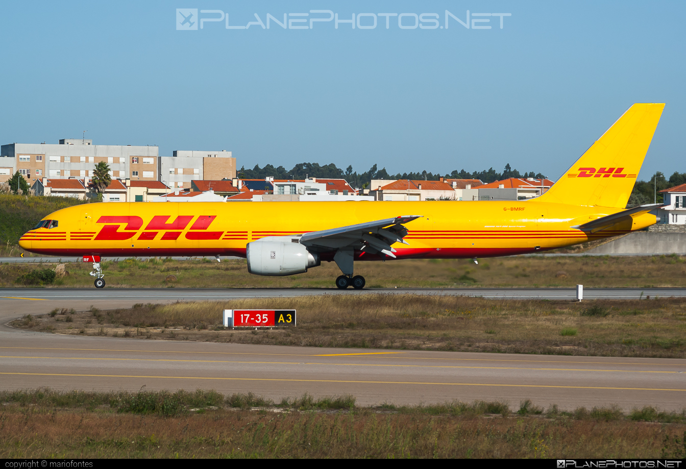 Boeing 757-200SF - G-BMRF operated by DHL Air #b757 #boeing #boeing757