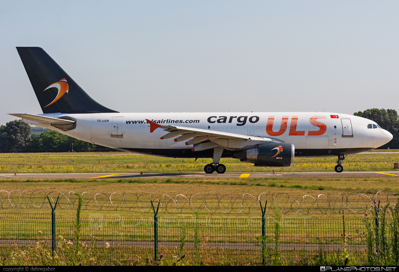 Airbus A310-308F - TC-LER operated by ULS Airlines Cargo #a310 #airbus