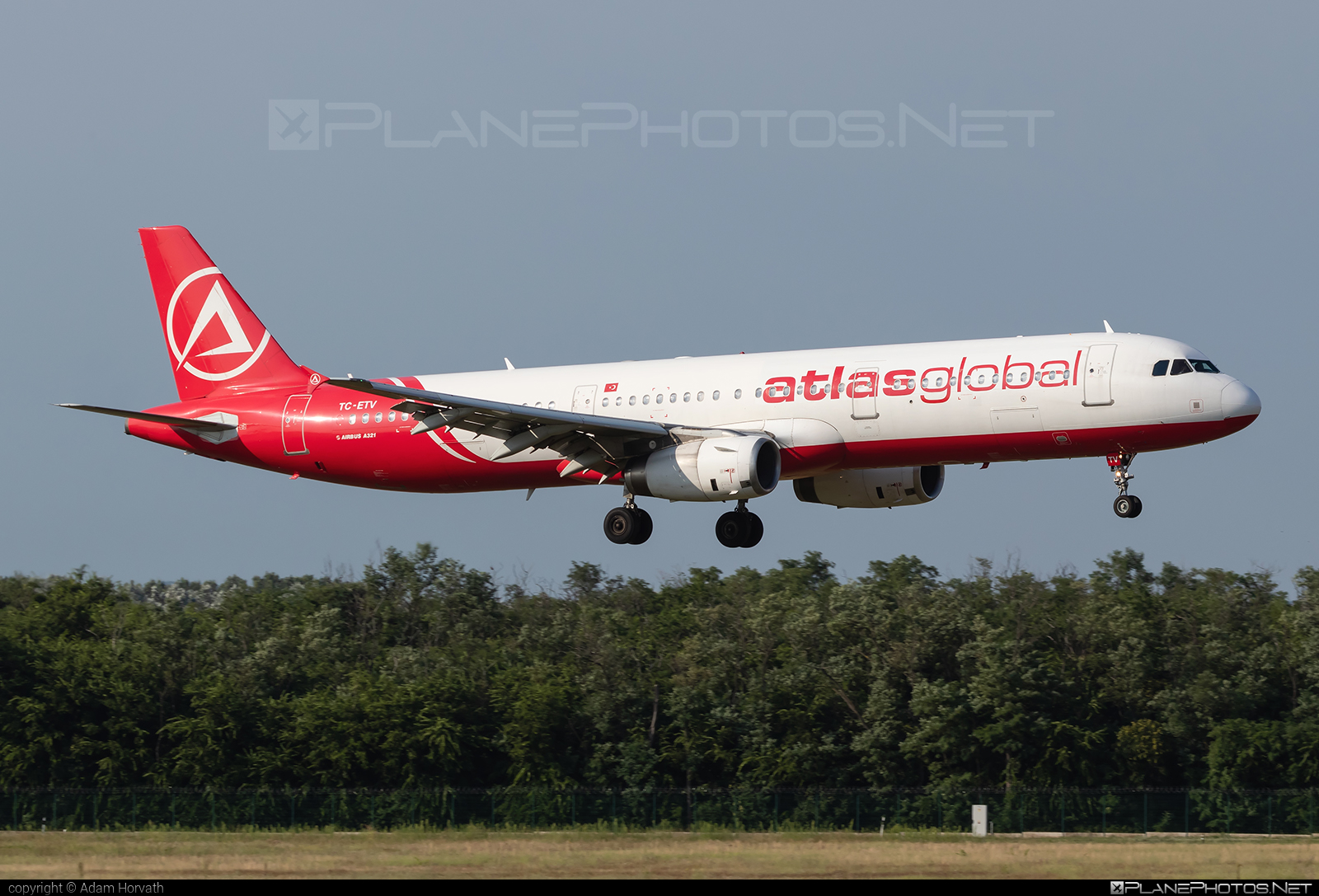 Airbus A321-231 - TC-ETV operated by Atlasglobal #a320family #a321 #airbus #airbus321