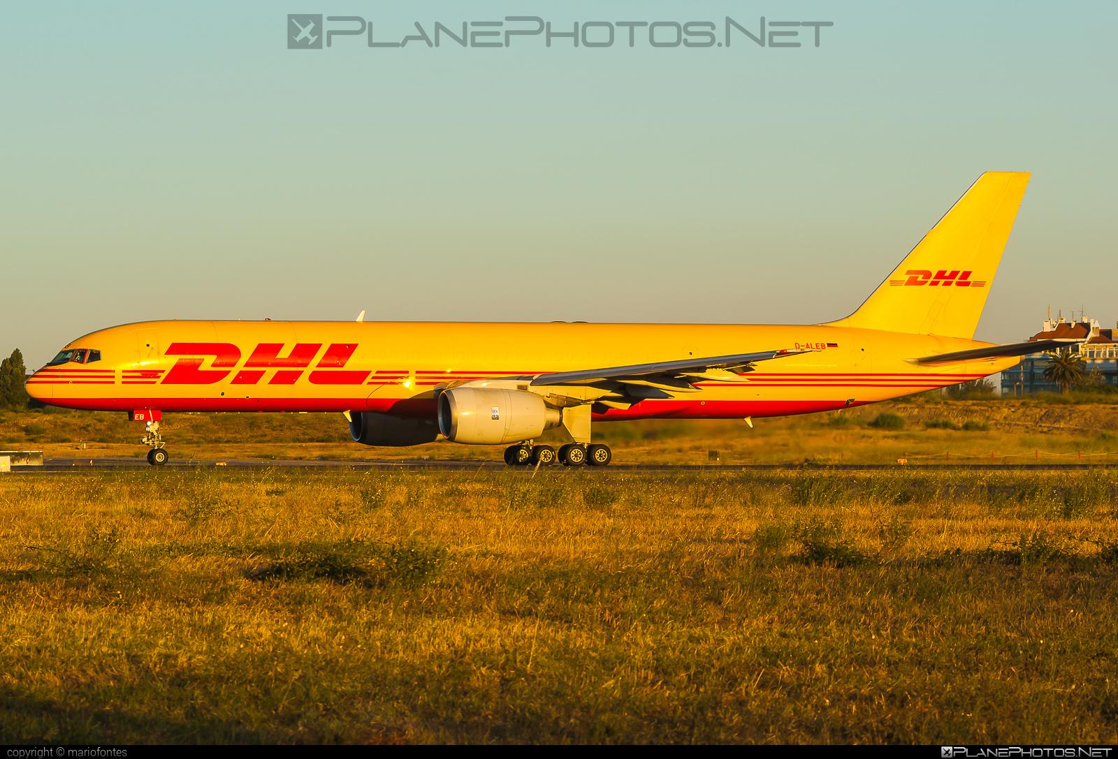 Boeing 757-200SF - D-ALEB operated by DHL (European Air Transport) #b757 #boeing #boeing757