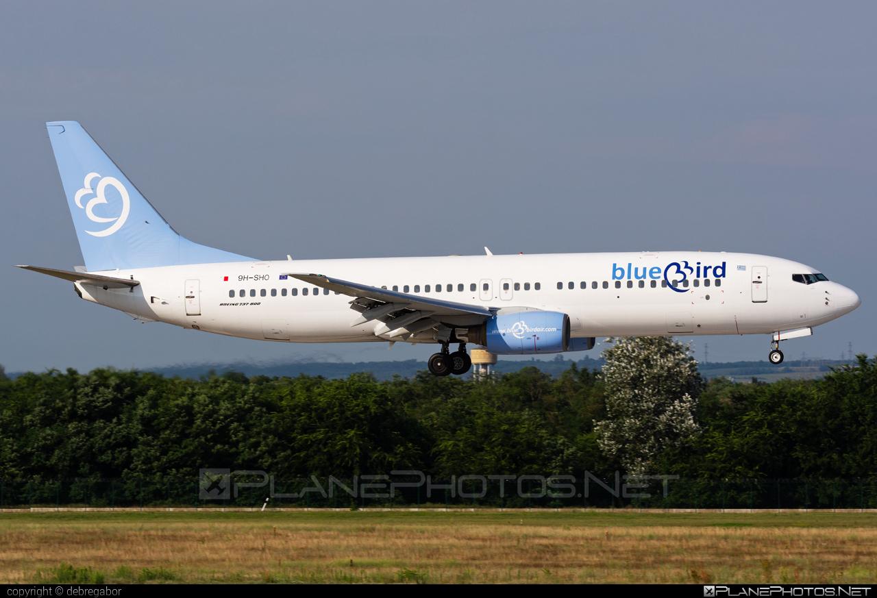 Boeing 737-800 - 9H-SHO operated by Bluebird Airways #b737 #b737nextgen #b737ng #boeing #boeing737