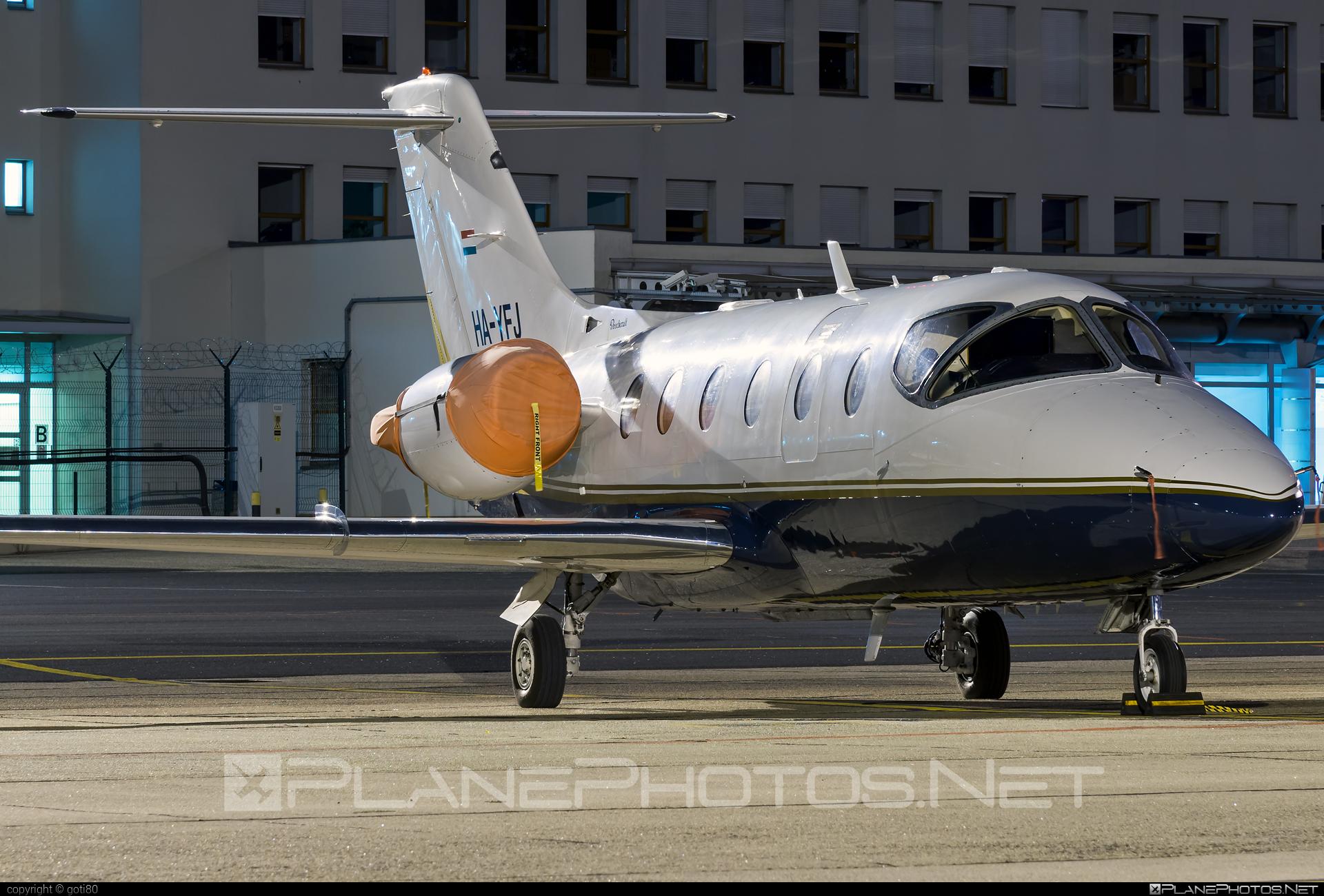 Beechcraft Beechjet 400A - HA-YFJ operated by Pannon Air Service #beech400 #beechcraft #beechcraft400 #beechcraftbeetjet400a #beechjet400 #beetjet400a #pannonairservice
