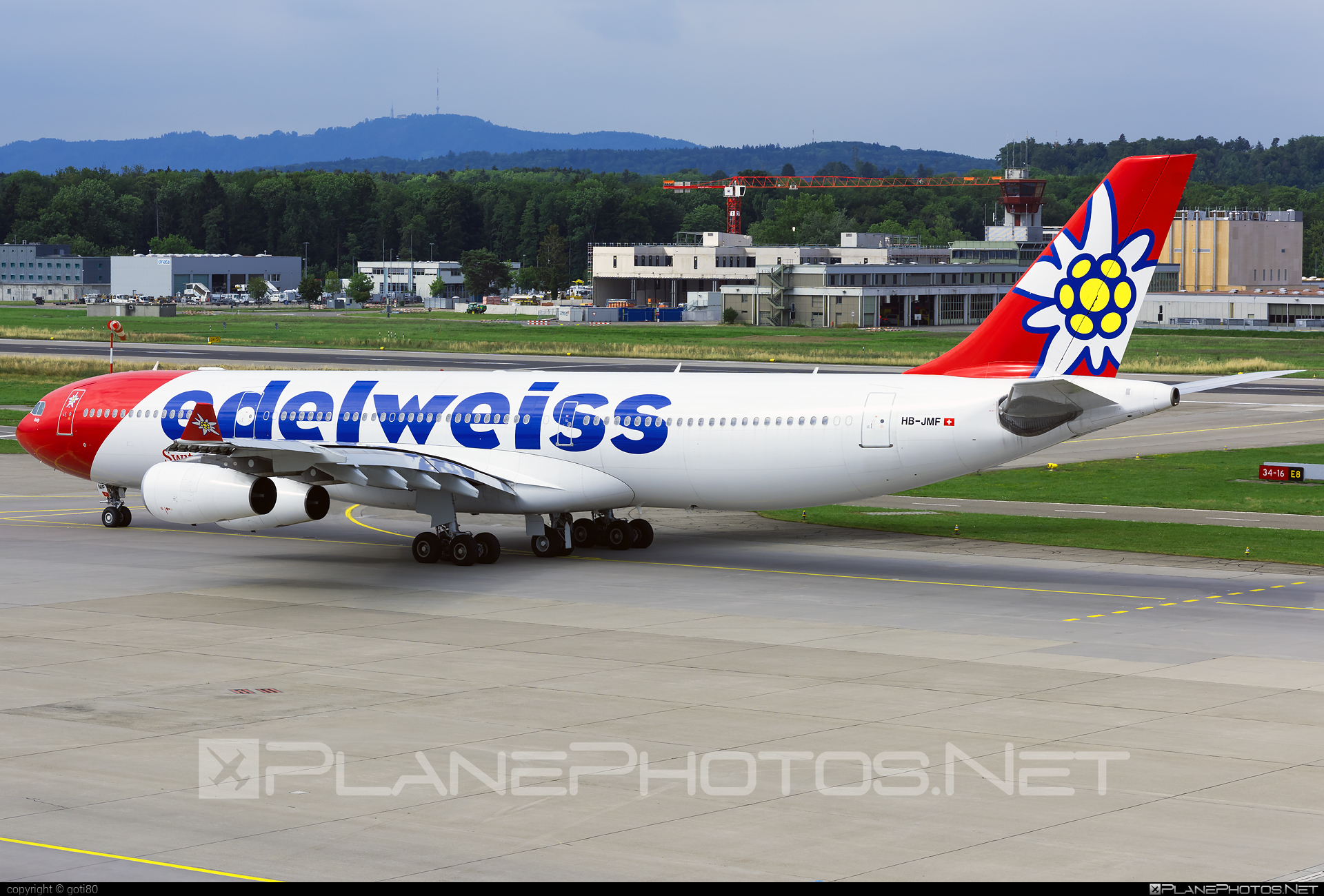 Airbus A340-313 - HB-JMF operated by Edelweiss Air #a340 #a340family #airbus #airbus340