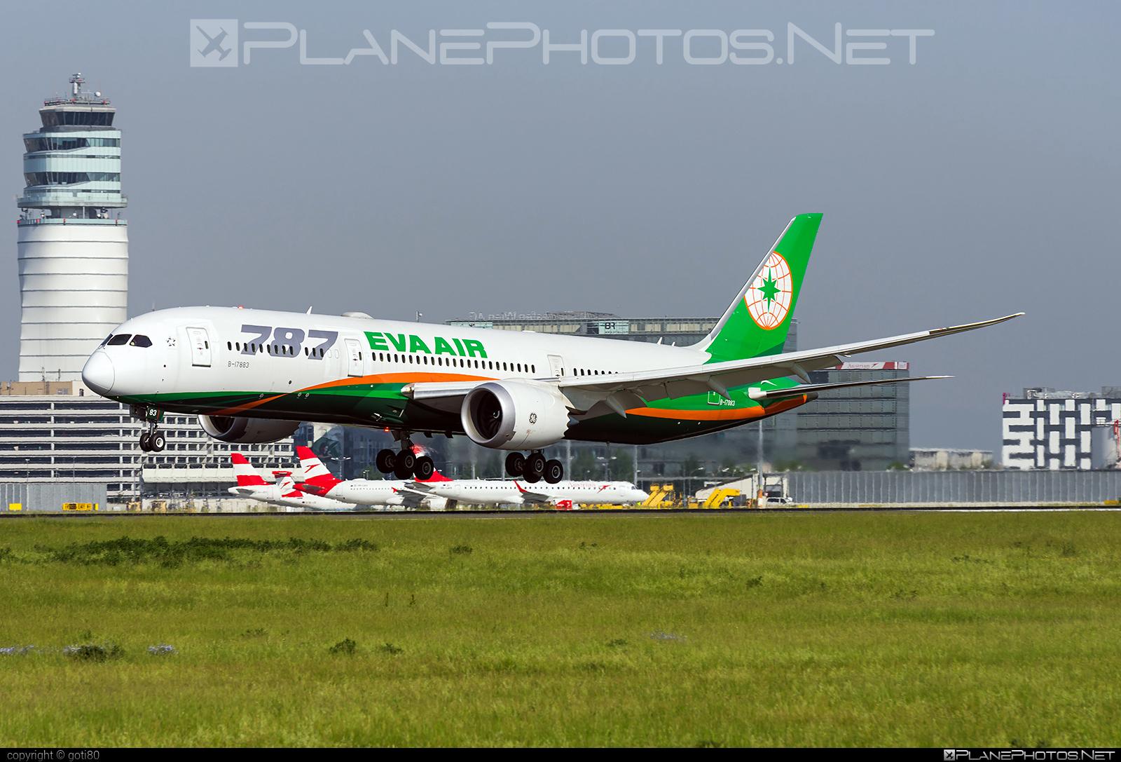 Boeing 787-9 Dreamliner - B-17883 operated by EVA Air #b787 #boeing #boeing787 #dreamliner