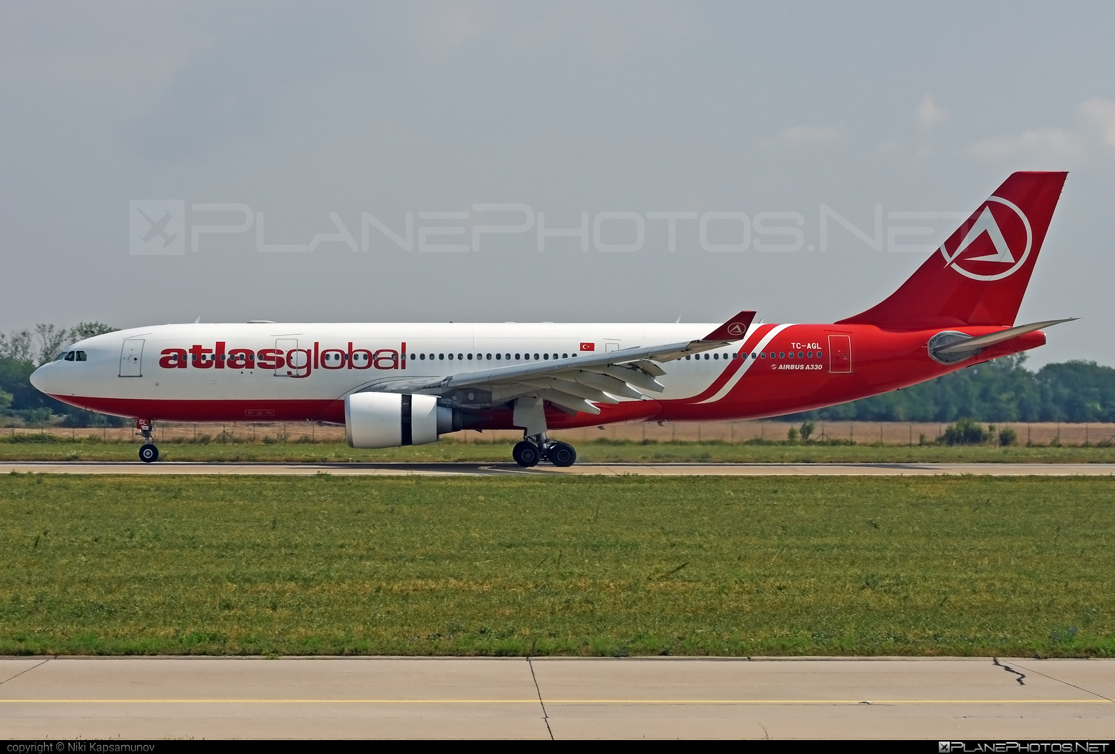 Airbus A330-203 - TC-AGL operated by Atlasglobal #a330 #a330family #airbus #airbus330