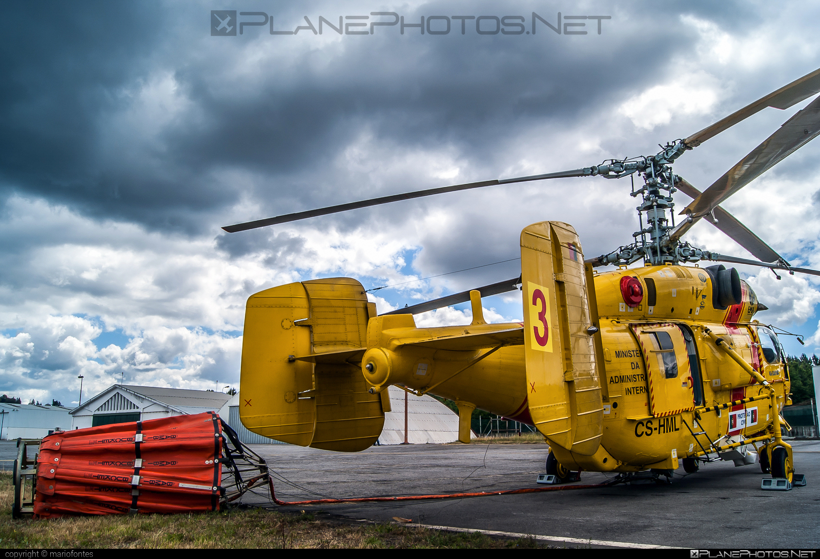 Kamov Ka-32A11BC - CS-HML operated by Proteção Civil (Portugal Civil Protection) #ka32 #ka32a11bc #kamov #kamov32 #kamovka32 #portugalcivilprotection #protecaocivil