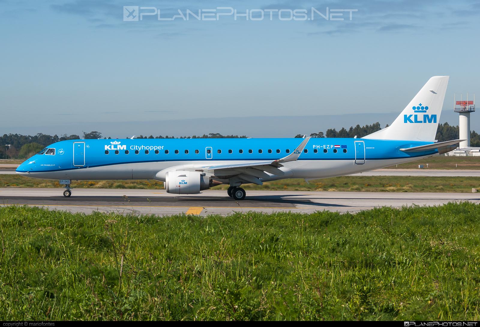 Embraer E190STD (ERJ-190-100STD) - PH-EZP operated by KLM Cityhopper #e190 #e190100 #e190100std #e190std #embraer #embraer190 #embraer190100std #embraer190std #klm #klmcityhopper