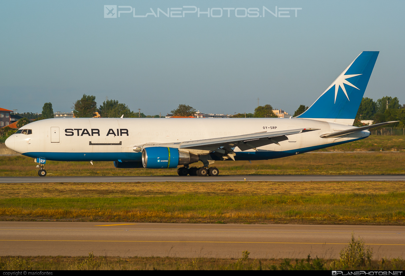 Boeing 767-200SF - OY-SRP operated by Star Air #b767 #b767freighter #b767sf #boeing #boeing767