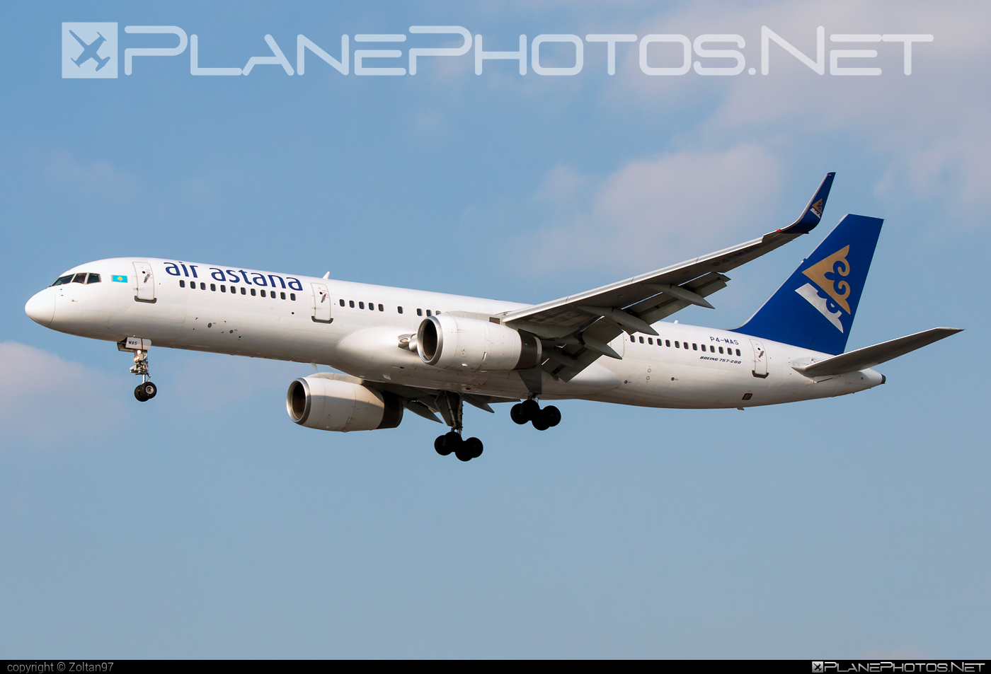 Boeing 757-200WL - P4-MAS operated by Air Astana #b757 #boeing #boeing757