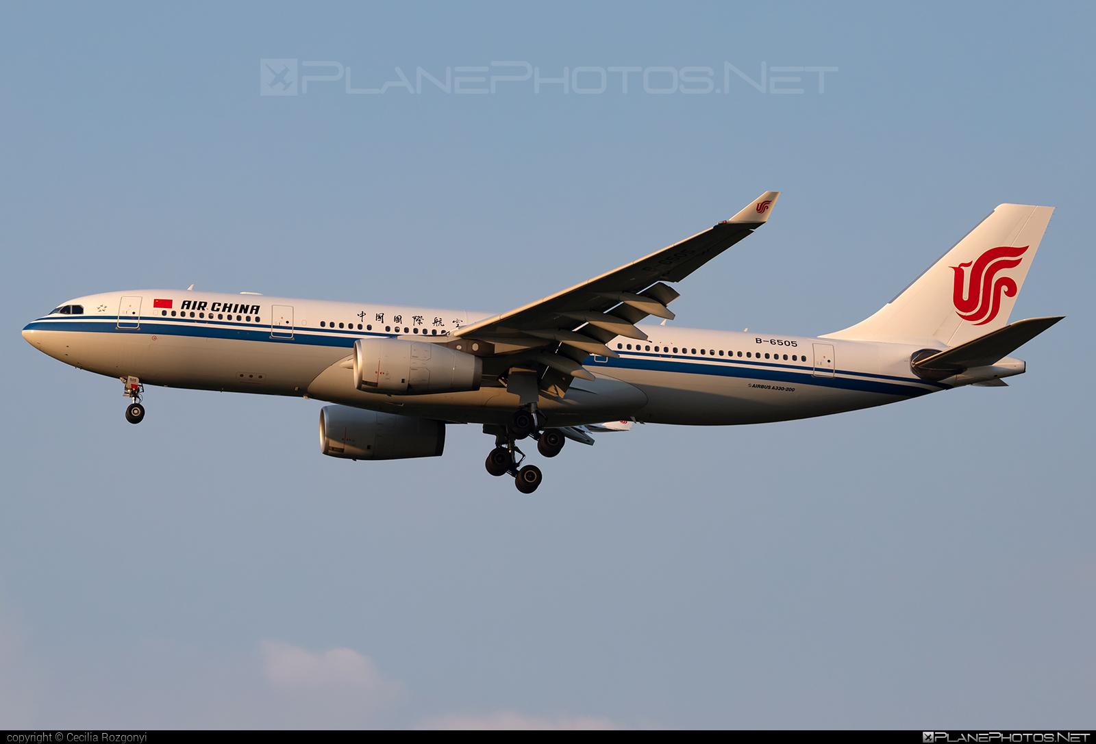 Airbus A330-243 - B-6505 operated by Air China #a330 #a330family #airbus #airbus330 #airchina