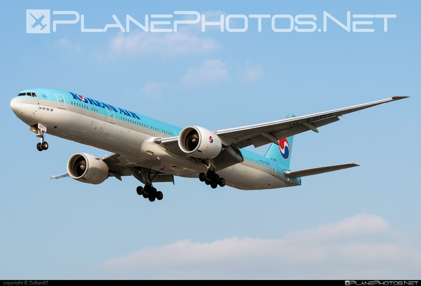 Boeing 777-300ER - HL7202 operated by Korean Air #b777 #b777er #boeing #boeing777 #koreanair #tripleseven