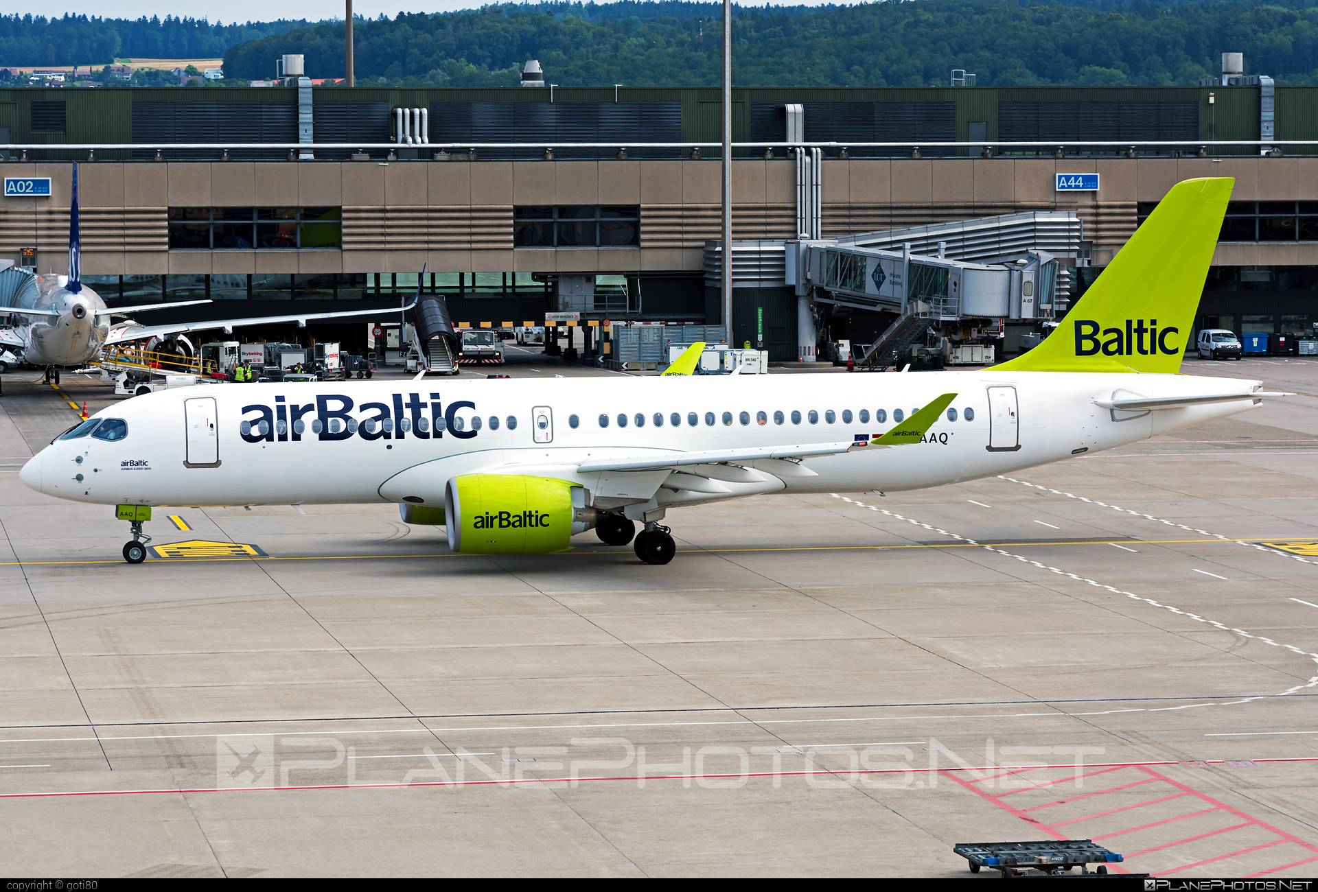 Airbus A220-300 - YL-AAQ operated by Air Baltic #a220300 #a220family #airbaltic #airbus #cs300 #cseries #cseries300