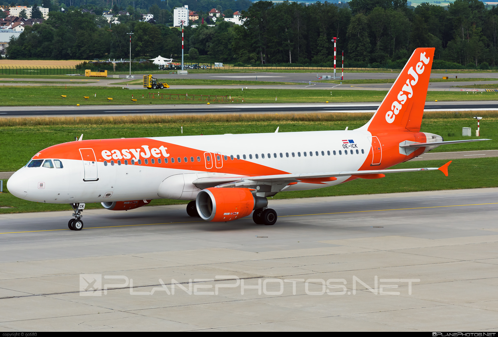 Airbus A320-214 - OE-ICK operated by easyJet Europe #a320 #a320family #airbus #airbus320 #easyjet #easyjeteurope
