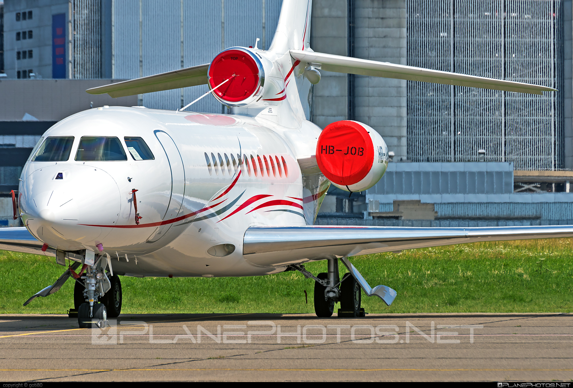 Dassault Falcon 7X - HB-JOB operated by Cat Aviation #dassault #dassaultfalcon #dassaultfalcon7x #falcon7x
