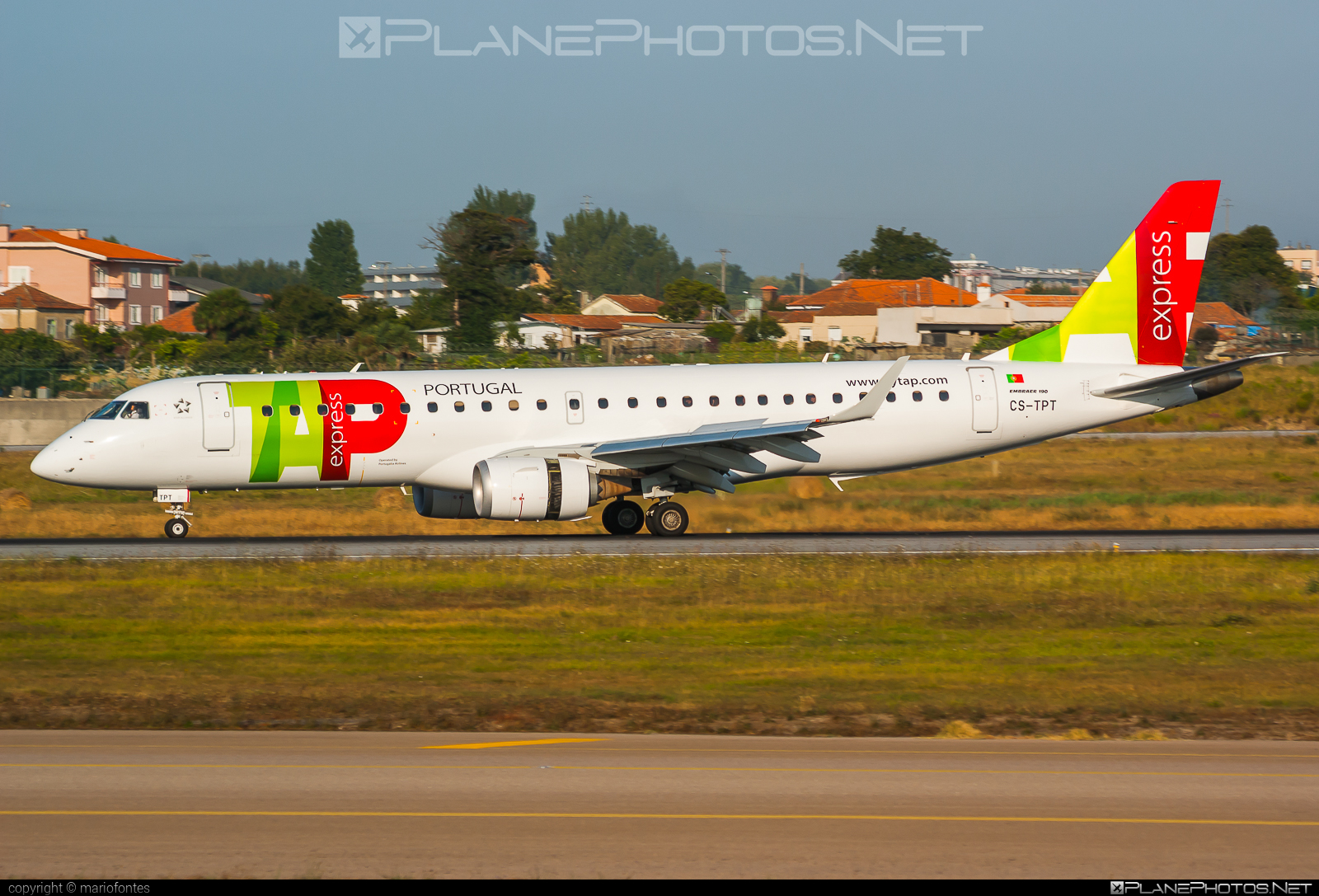 Embraer 190-100LR - CS-TPT operated by TAP Express #e190 #embraer #embraer190 #embraer190lr