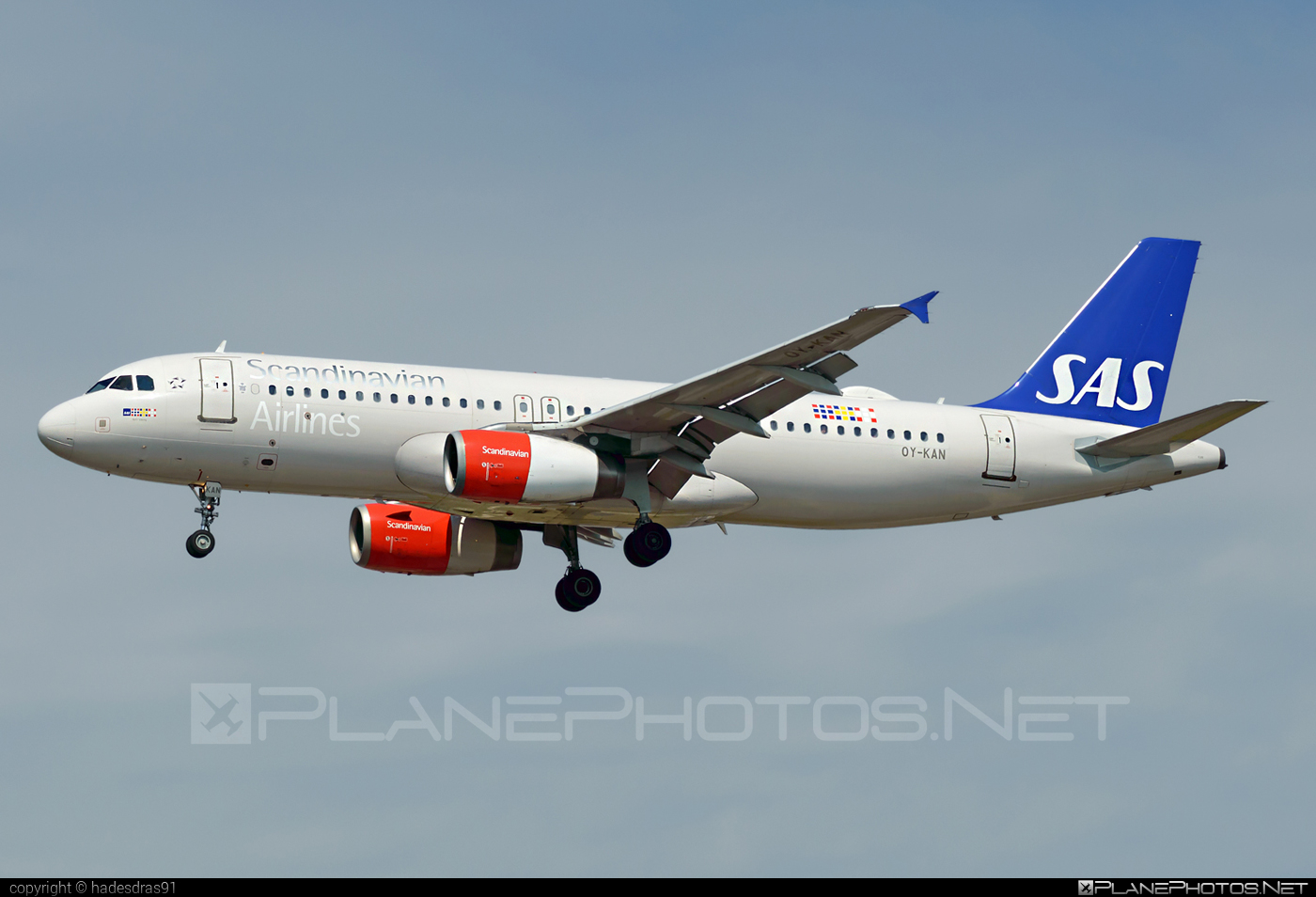 Airbus A320-232 - OY-KAN operated by Scandinavian Airlines (SAS) #a320 #a320family #airbus #airbus320 #sas #sasairlines #scandinavianairlines