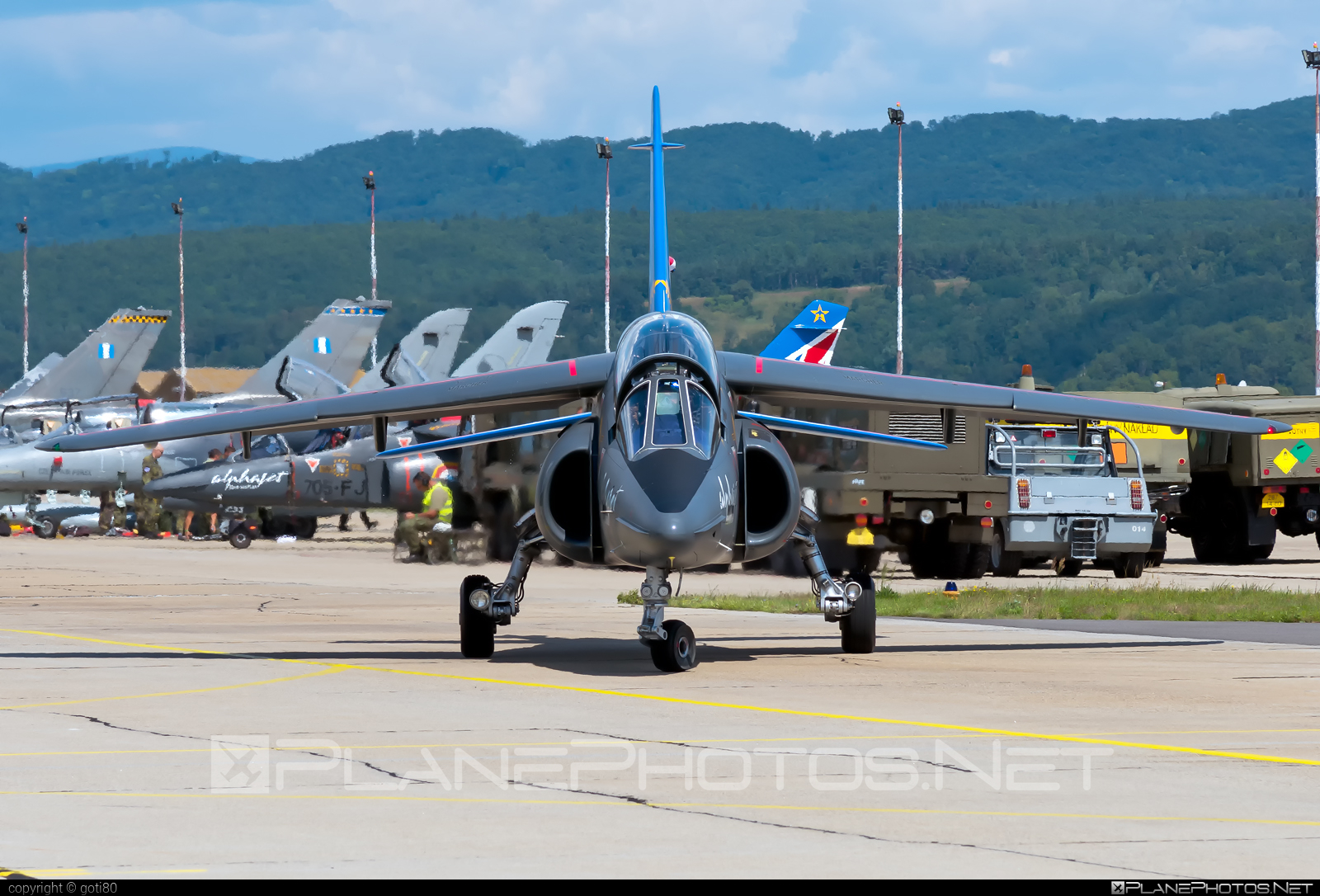 Dassault-Dornier Alpha Jet E - E114 operated by Armée de l´Air (French Air Force) #alphajet #alphajete #armeedelair #dassaultdornier #frenchairforce #siaf2019