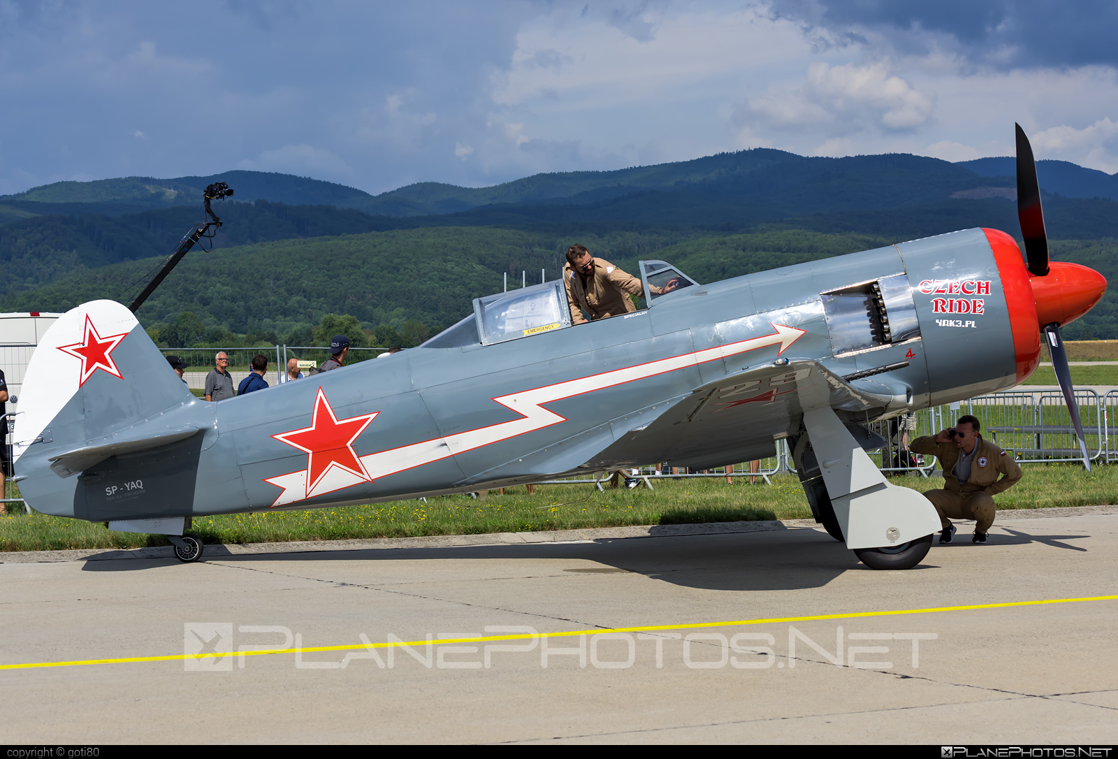 Yakovlev Yak-11-R-2000 - SP-YAQ operated by Private operator #siaf2019 #yak #yak11 #yak11r2000 #yakovlev #yakovlev11 #yakovlevyak11