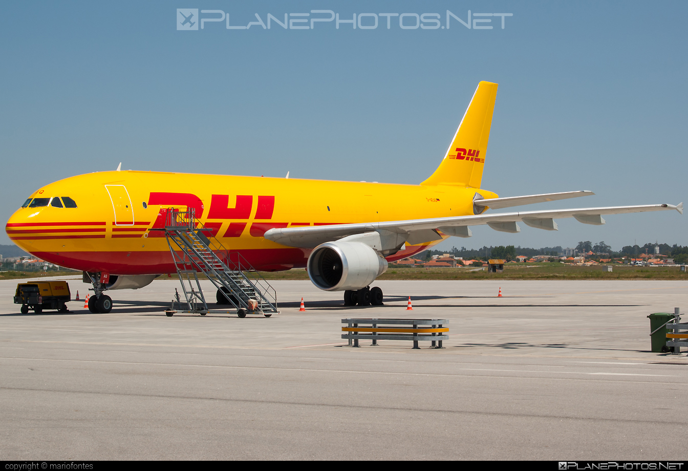 Airbus A300B4-622RF - D-AEAQ operated by DHL (European Air Transport) #a300 #airbus