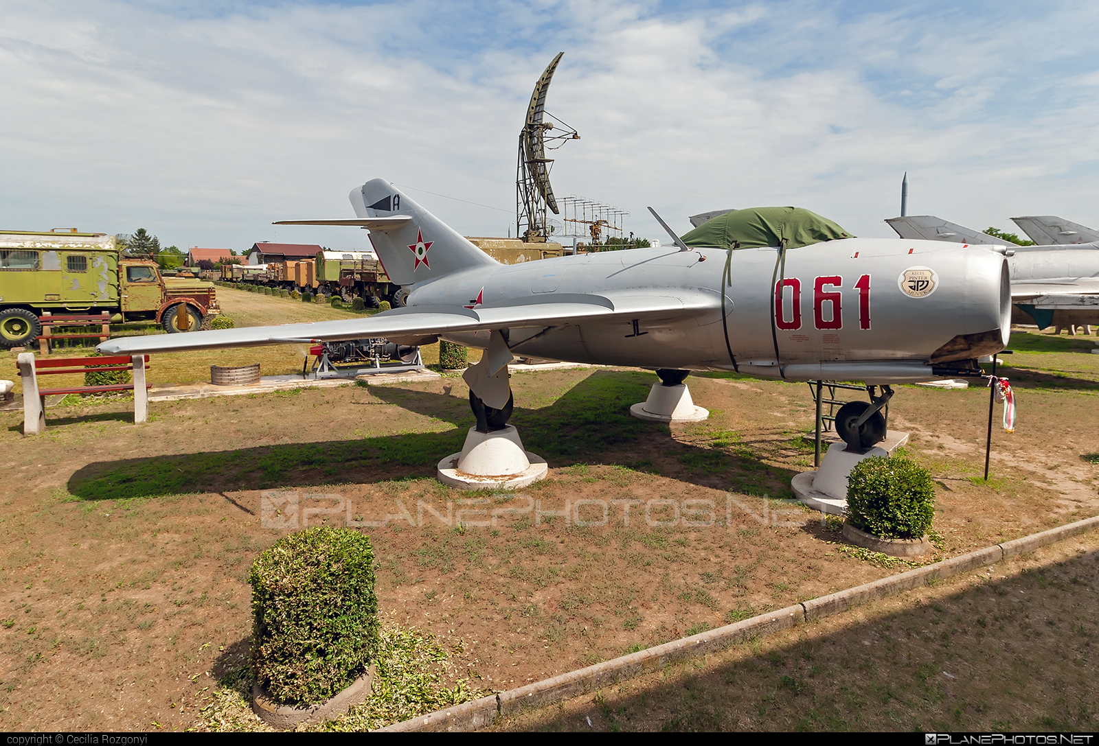 Mikoyan-Gurevich MiG-15bis - 061 operated by Magyar Néphadsereg (Hungarian People's Army) #hungarianpeoplesarmy #magyarnephadsereg #mig #mig15 #mig15bis #mikoyangurevich