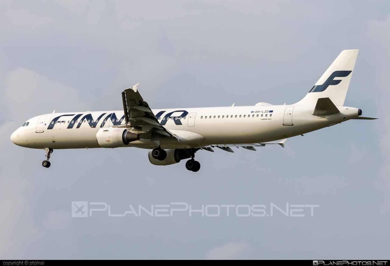 Airbus A321-211 - OH-LZD operated by Finnair #a320family #a321 #airbus #airbus321 #finnair