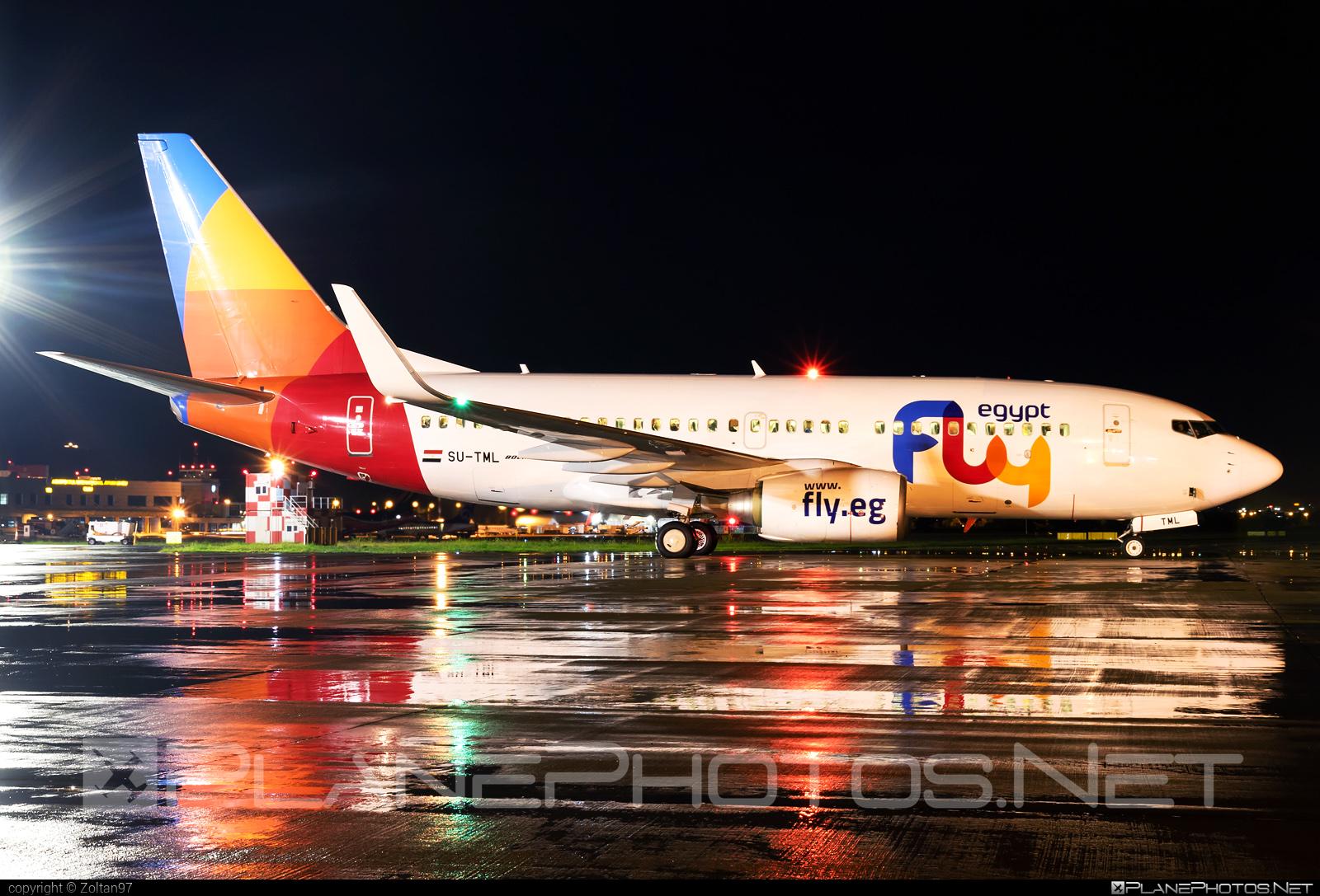 Boeing 737-700 - SU-TML operated by FlyEgypt #b737 #b737nextgen #b737ng #boeing #boeing737