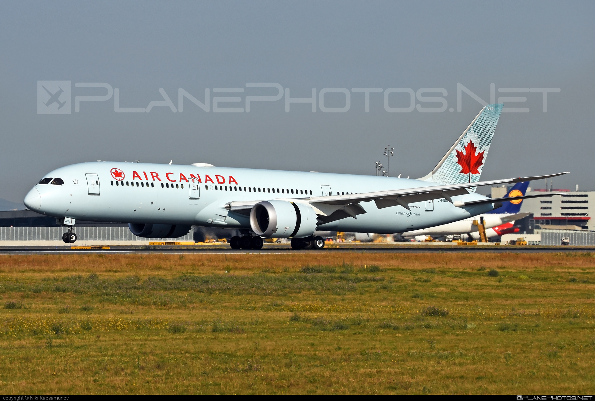 Boeing 787-9 Dreamliner - C-FNOI operated by Air Canada #aircanada #b787 #boeing #boeing787 #dreamliner