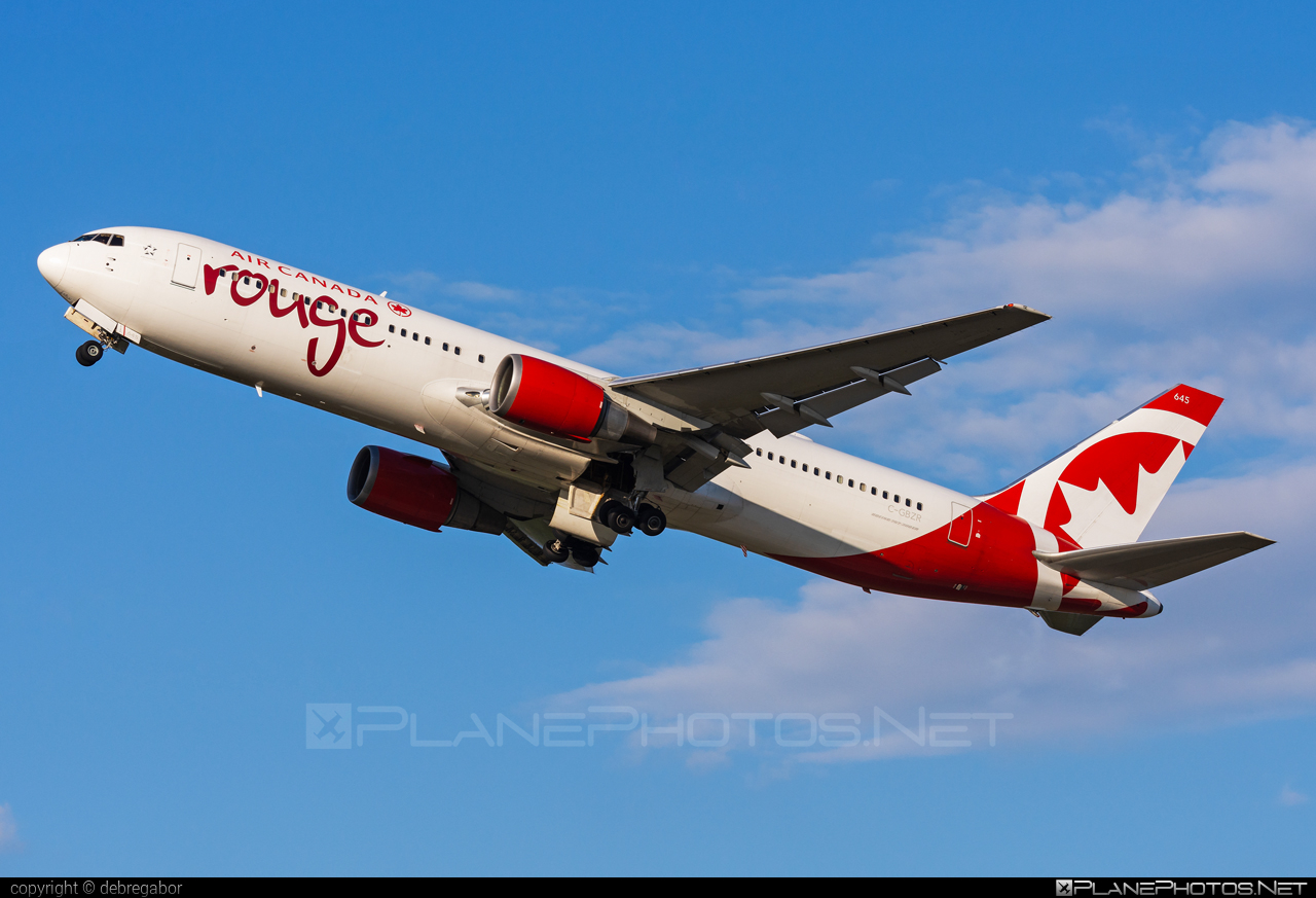 Boeing 767-300ER - C-GBZR operated by Air Canada Rouge #aircanadarouge #b767 #b767er #boeing #boeing767