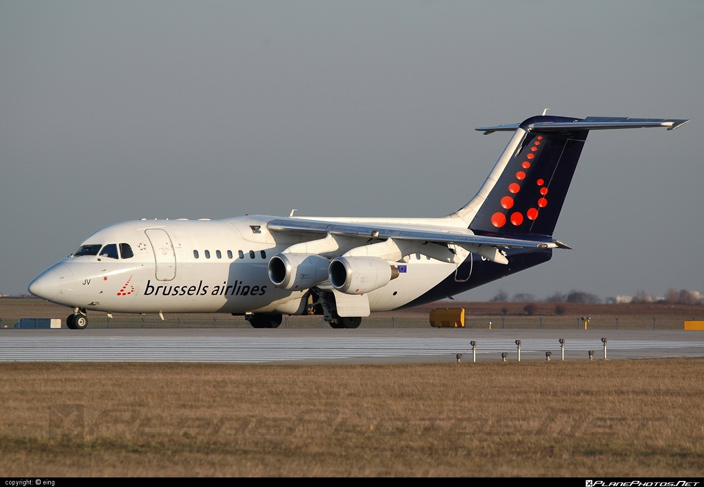 British Aerospace Avro RJ85 - OO-DJV operated by Brussels Airlines #avro146rj85 #avrorj85 #bae146 #britishaerospace #brusselsairlines #jumbolino