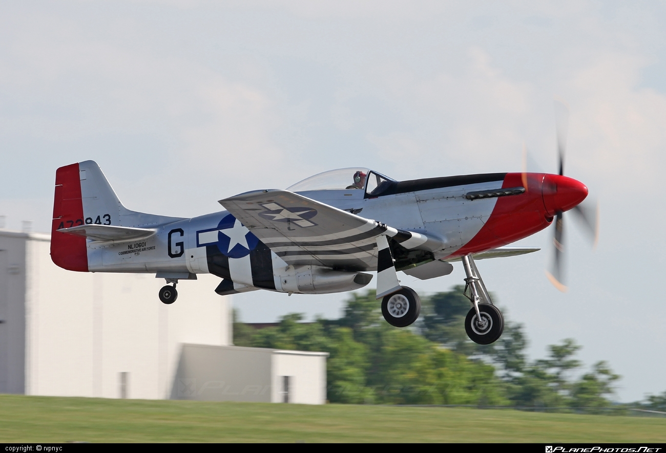 North American P-51D Mustang - N10601 operated by Commemorative Air Force #northamerican