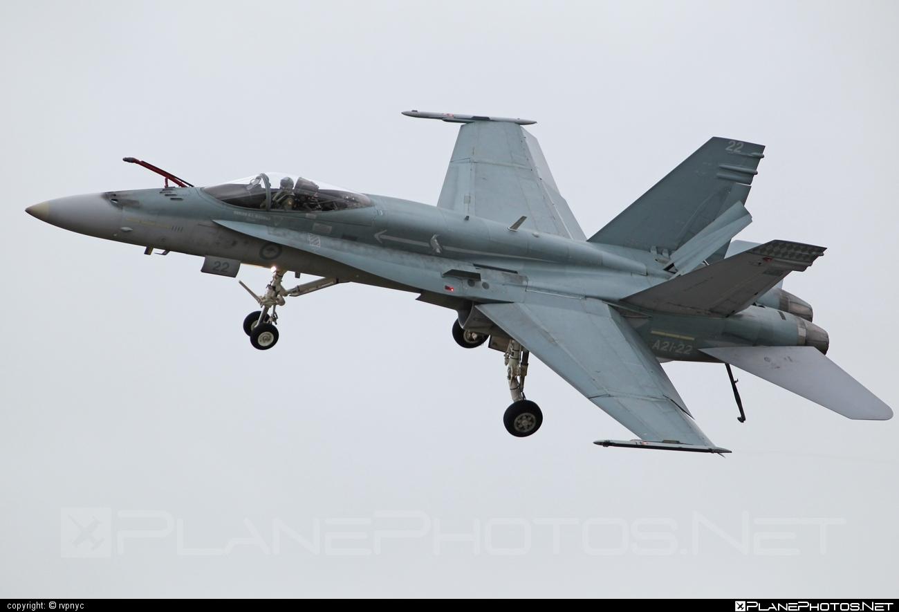 McDonnell Douglas F/A-18A Hornet - A21-22 operated by Royal Australian Air Force (RAAF) #f18 #f18hornet #fa18 #fa18a #fa18hornet #mcdonnelldouglas #raaf #royalaustralianairforce