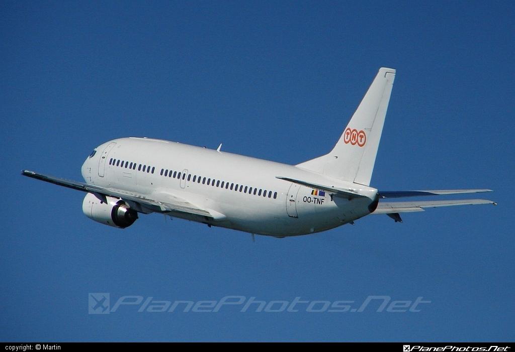 Boeing 737-300 - OO-TNF operated by TNT Airways #b737 #boeing #boeing737