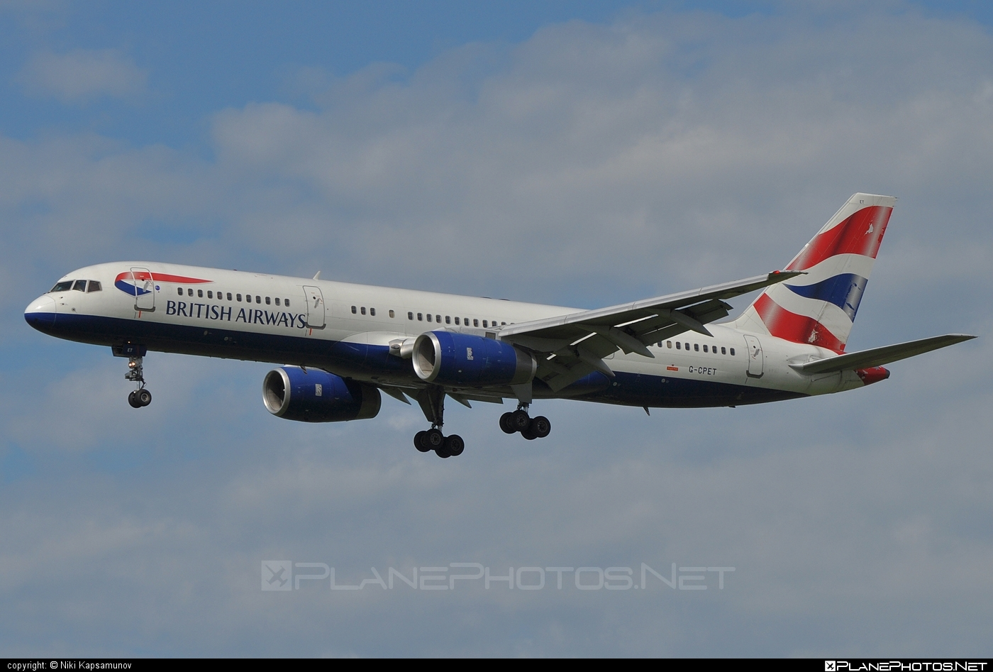 Boeing 757-200 - G-CPET operated by British Airways #b757 #boeing #boeing757 #britishairways