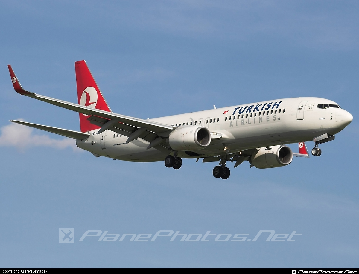 Boeing 737-800 - TC-JGJ operated by Turkish Airlines #b737 #b737nextgen #b737ng #boeing #boeing737 #turkishairlines