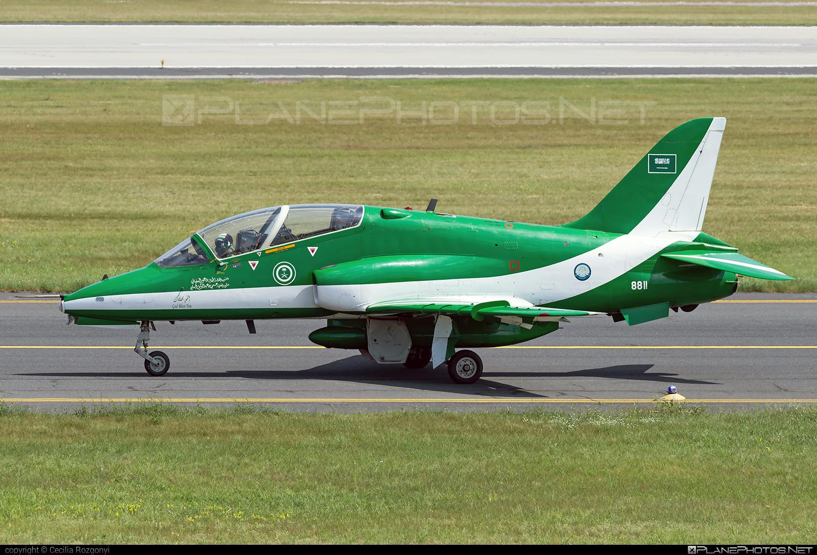 British Aerospace Hawk 65A - 8811 operated by Royal Saudi Air Force #britishaerospace #saudihawks