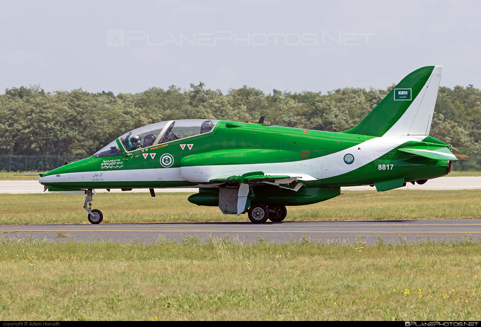 British Aerospace Hawk 65A - 8817 operated by Royal Saudi Air Force #britishaerospace #saudihawks