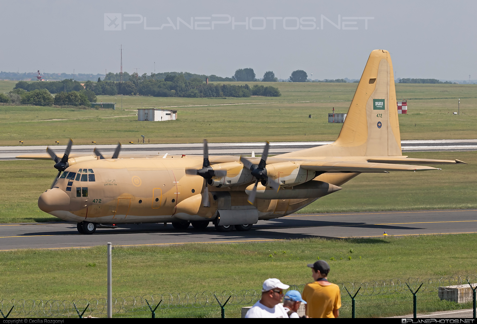 Lockheed C-130H Hercules - 472 operated by Royal Saudi Air Force #lockheed