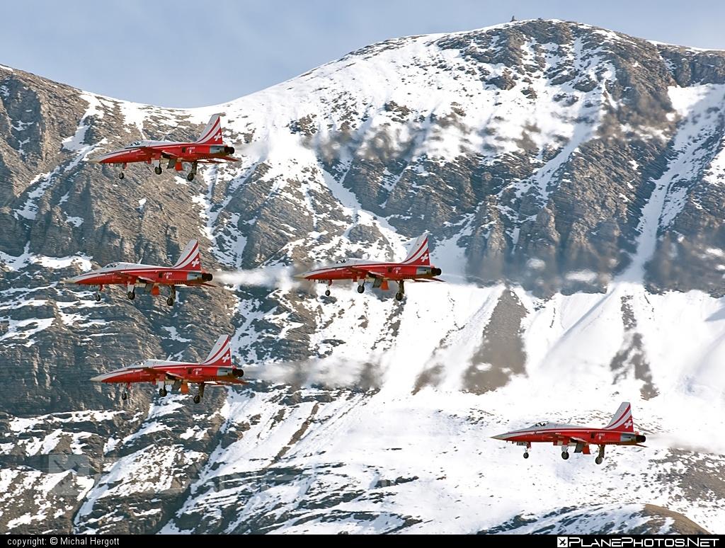 Northrop F-5E Tiger II - J-3085 operated by Schweizer Luftwaffe (Swiss Air Force) #northrop